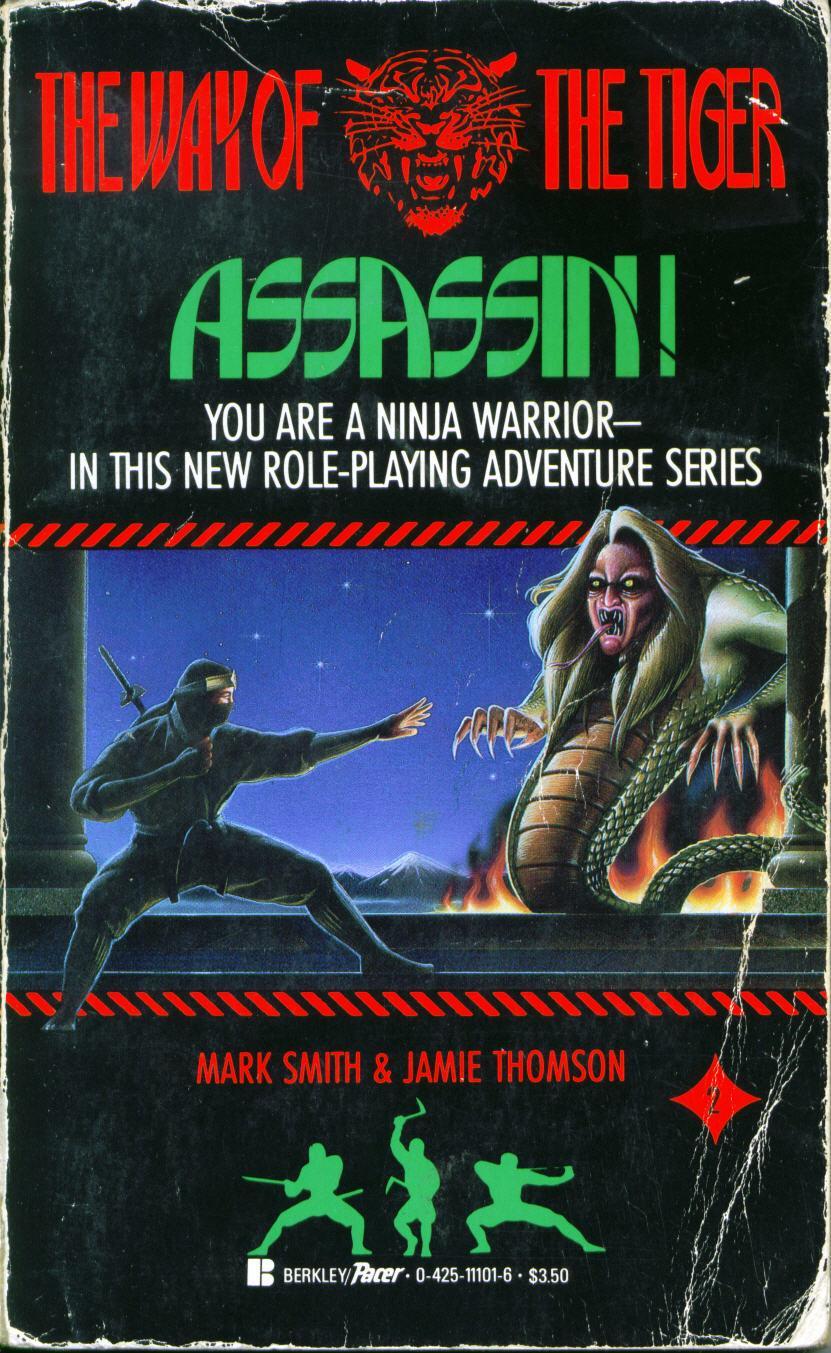Assassin! | Fighting Fantasy Fan